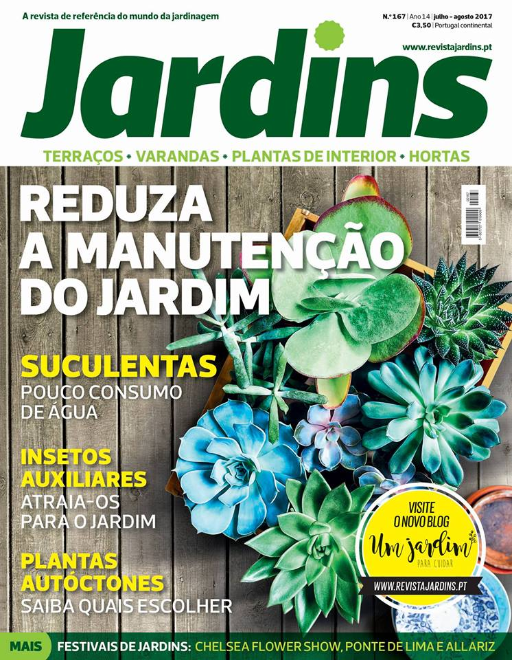 Revista JARDINS de Jul./Ago. 2017