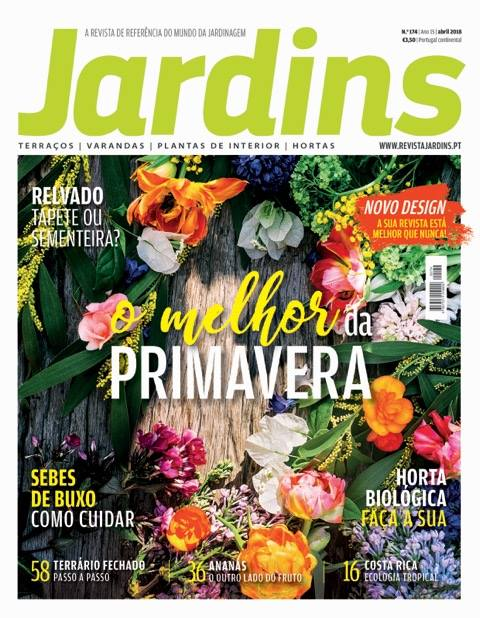 Revista Jardins de Abril 2018