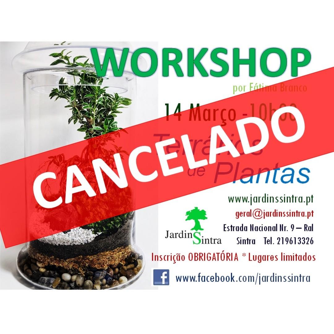 Cancelamento de Workshops de março