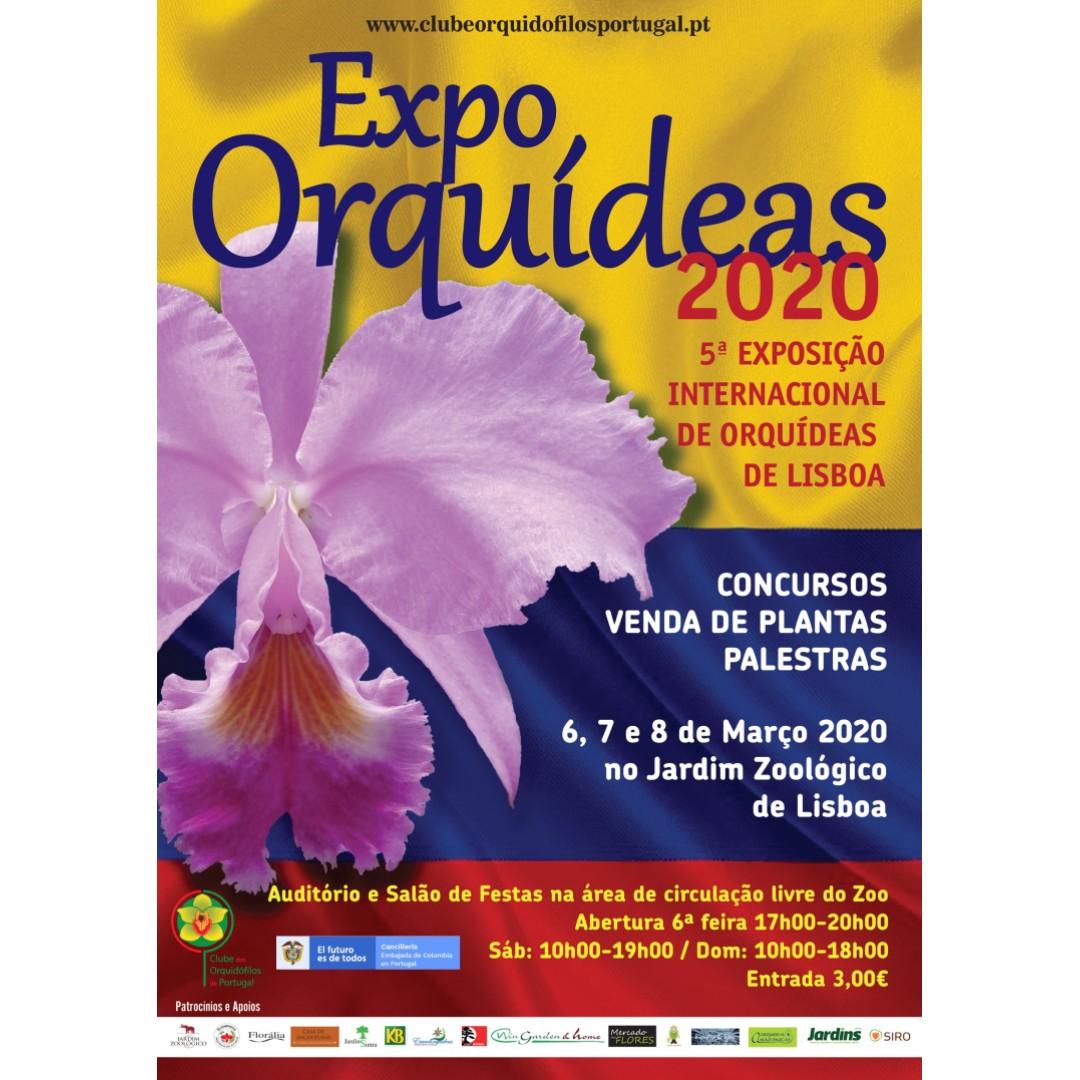 Expo Orquídeas Lisboa 2020